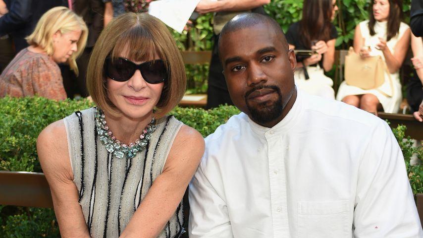 Kanye West und Anna Wintour