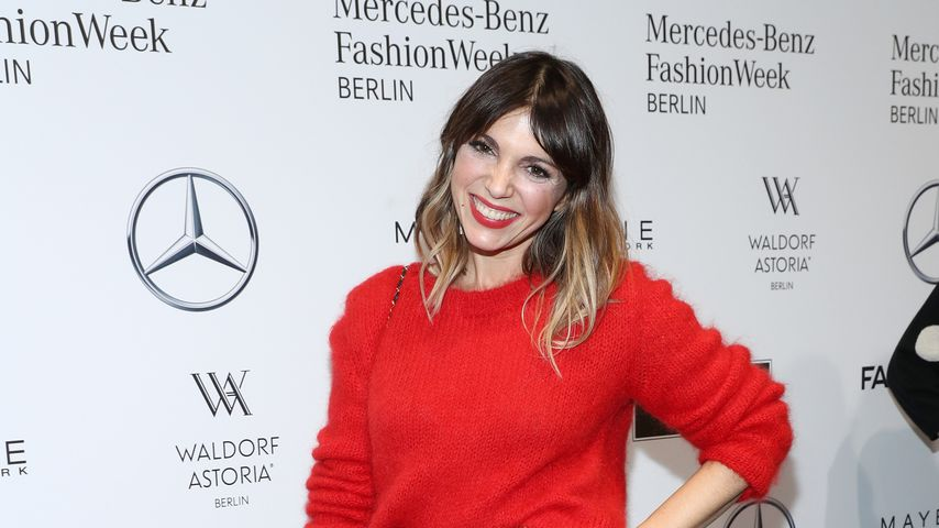 Anna Wolfers bei der Mercedes-Benz Fashion Week Berlin
