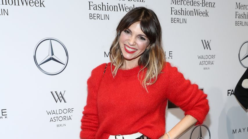 Anna Wolfers auf der Fashion Week in Berlin