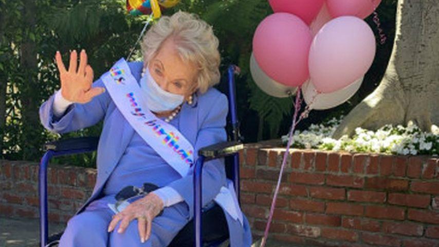 Anne Buydens an ihrem 101. Geburtstag
