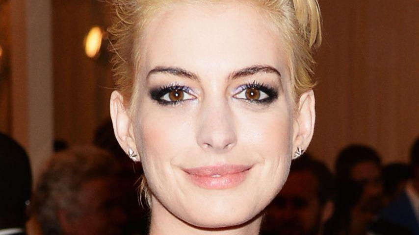 Sexy schwanger: Anne Hathaway shoppt Dessous mit Babybauch