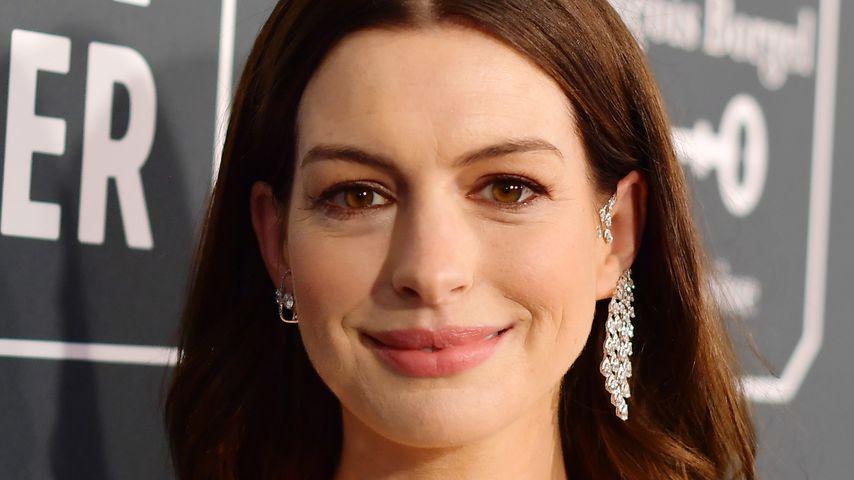 Schauspielerin Anne Hathaway im Januar 2020 in Los Angeles