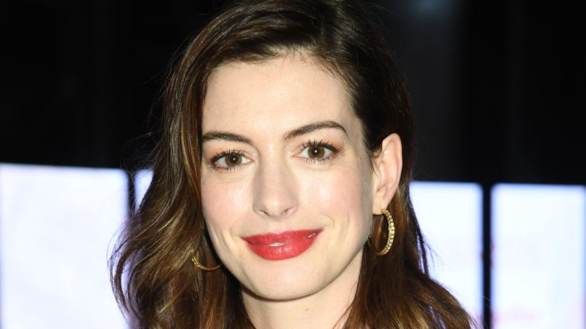 Anne Hathaway in New York, März 2019