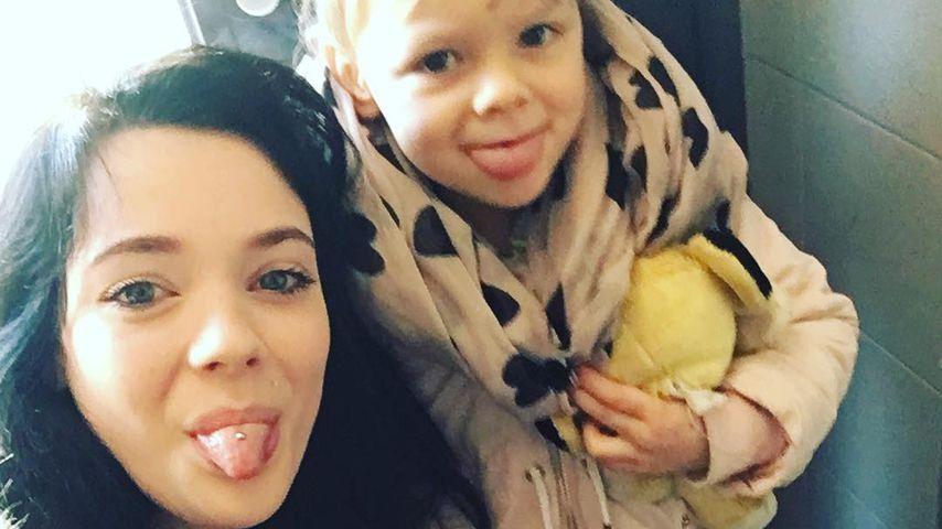 Anne Wünsche und ihre Tochter Miley