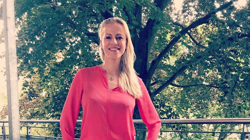 Nach drei Monaten: Erster Abend ohne Baby für Anneke Dürkopp