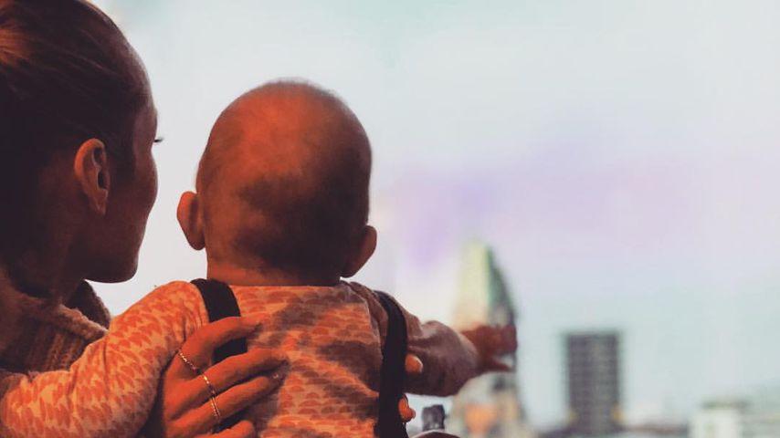 """""""Entspanntestes Kind"""": Annemarie Carpendale über Baby-Alltag"""