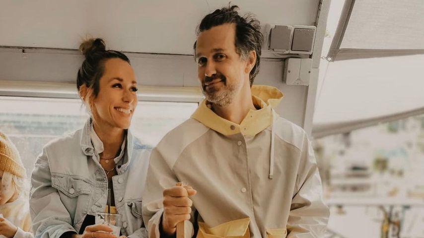 Annemarie und Wayne Carpendale im August 2021