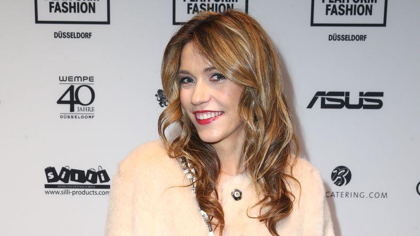 Annett Möller auf der Fashion Platform Düsseldorf im Januar 2017