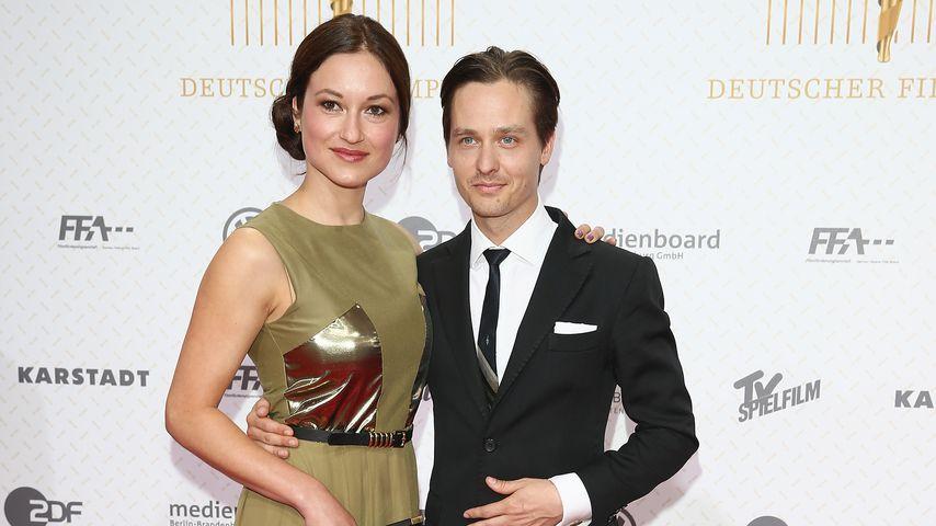 Annie Mosebach und Tom Schilling im April 2013