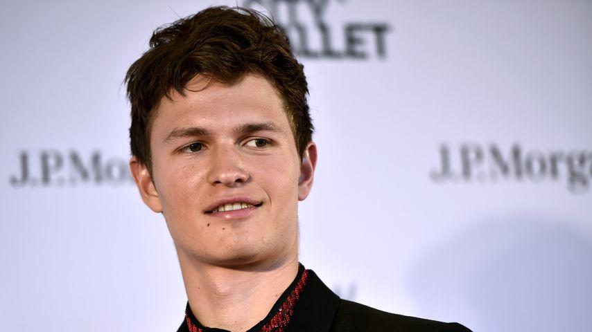 Schauspieler Ansel Elgort, Mai 2018