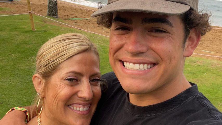 Anthony Barajas mit seiner Mutter Catherine