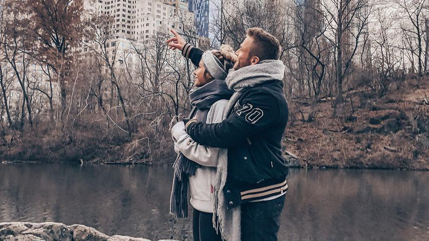 Antonia Elena und Philipp Stehler im Central Park in New York