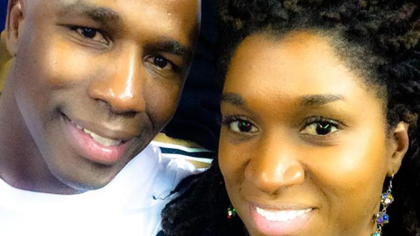 Antonio Armstrong und seine Frau 2014