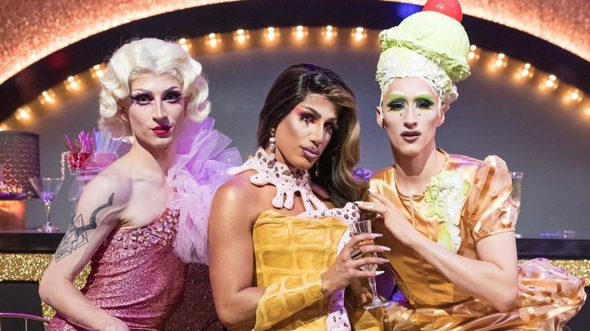 "Aria Addams, Yonce Banks und Vava Vilde, ""Queen of Drags""-Finalistinnen"