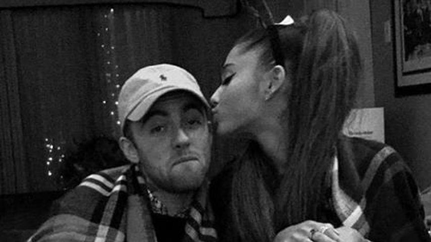 Wegen Mac Millers Tod: Ariana Grande ist am Boden zerstört!