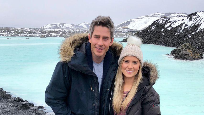 Arie Luyendyk Jr. und Lauren Burnham in Island, März 2018