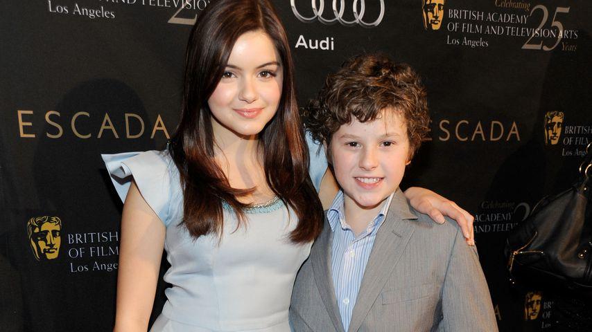 Ariel Winter und Nolan Gould im Januar 2012