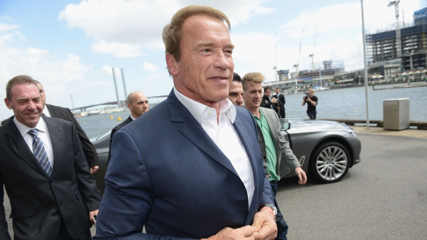 """Arnold Schwarzenegger bei der """"Arnold Classic"""" in Melbourne"""