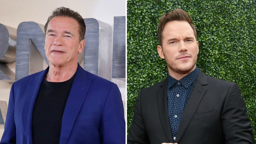Ups! Arnold Schwarzenegger verwechselt Schwiegersohn Chris!