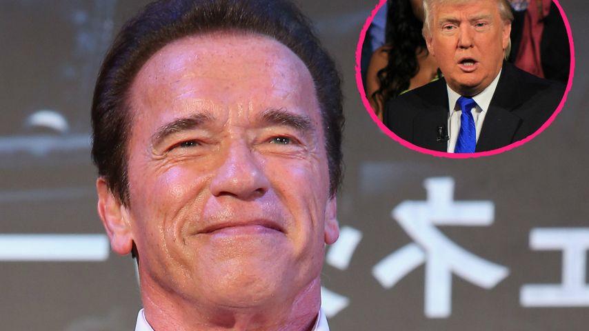 Arnold Schwarzenegger löst Donald Trump als Moderator ab