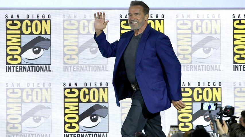 Arnold Schwarzenegger auf der Comic-Con in San Diego