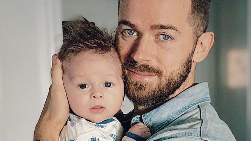 Nikki Bella teilt niedliches Pic von Artem und ihrem Sohn