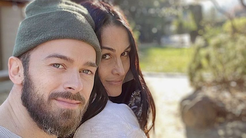 Artem Chigvintsev und Nikki Bella, Dezember 2020