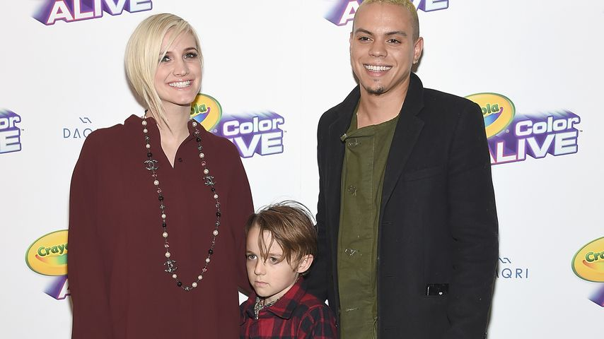 Ashlee Simpson, Evan Ross und Bronx