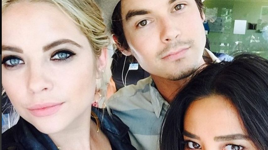 Shay Mitchell, Ashley Benson und Tyler Blackburn