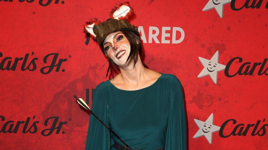 Ashley Greene bei der Halloween-Party von Just Jared 2018