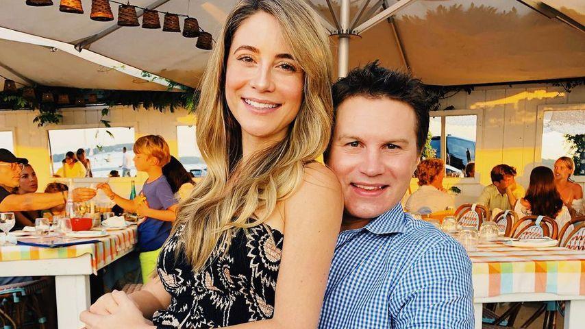 Ashley Spivey und ihr Mann Steve Hunsberg im August 2019