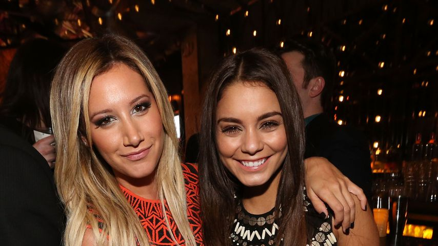 "Ashley Tisdale und Vanessa Hudgens, ""High School Musical""-Stars"