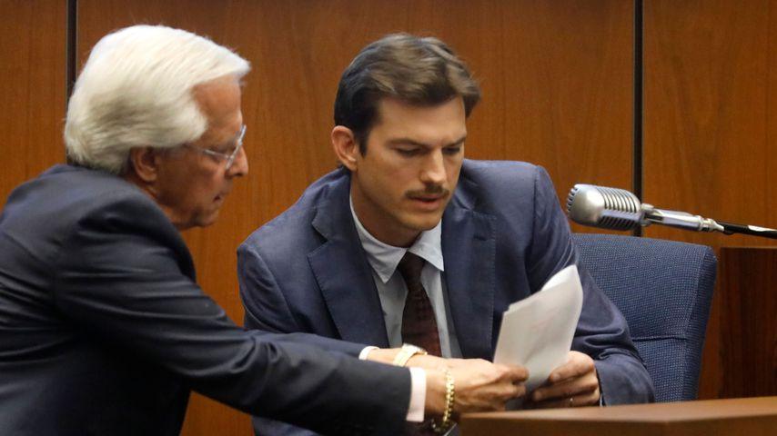 Ashton Kutcher im Gericht in Los Angeles, Mai 2019