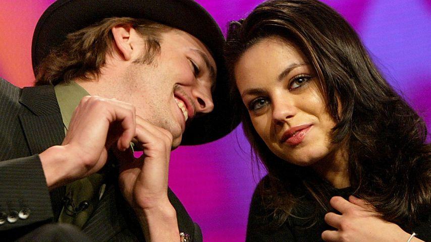 """Stolze Braut: Mila Kunis bestätigt """"Ehemann"""" Ashton"""