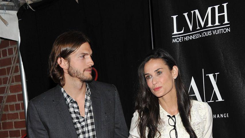 Ashton Kutcher ignoriert Affären-Biografie von Demi Moore