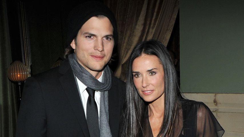 "Ashton Kutcher und Demi Moore beim Screening von ""No Strings Attached"" 2011"