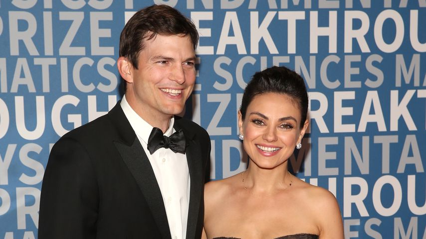 Ashton Kutcher und Mila Kunis beim Breakthrough Prize, 2017