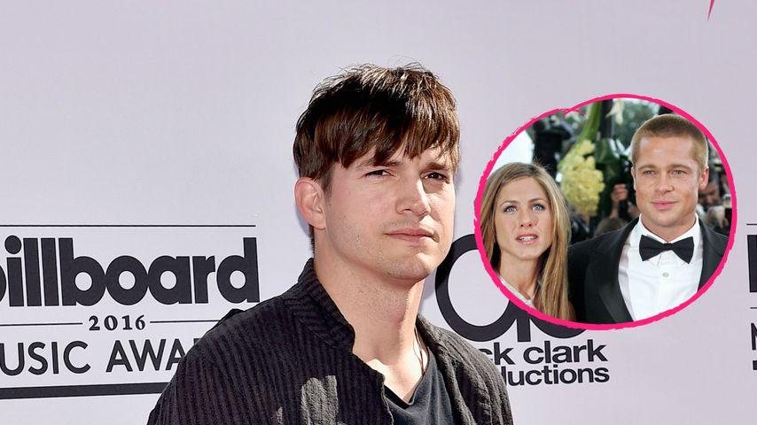 Ashton Kutcher fragte Brad um Erlaubnis, Jen auszuführen!