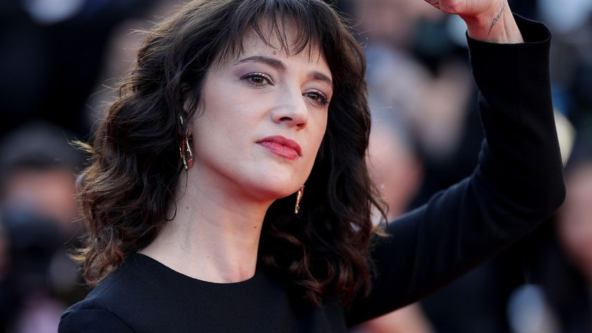 Asia Argento bei den internationalen Filmfestspielen in Cannes 2018