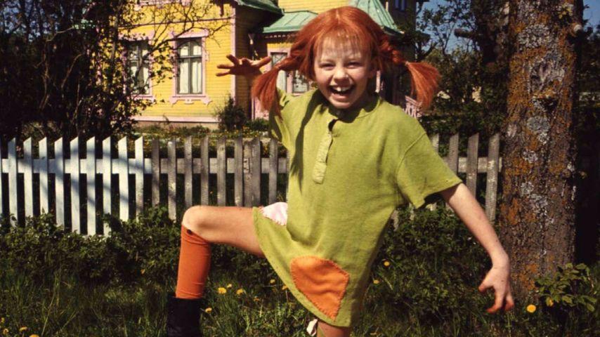 Astrid Lindgren und Pippi Langstrumpf