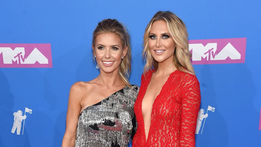 Audrina Patridge und Stephanie Pratt bei den MTV Video Music Awards 2018 in New York City