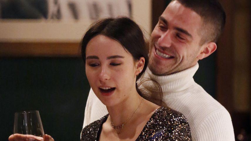 Aurora Hunziker mit ihrem Freund Goffredo Cerza