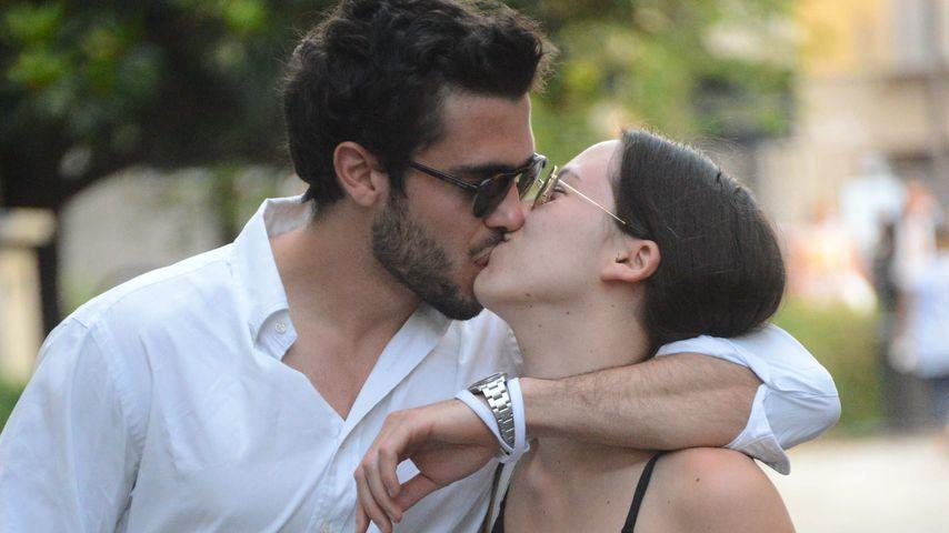 Erwischt: Aurora Ramazzotti knutscht ihren Freund Goffredo