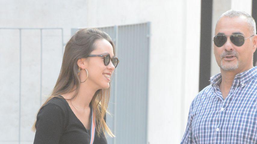 Aurora Ramazzotti mit ihrem Bodyguard Sergio in Mailand