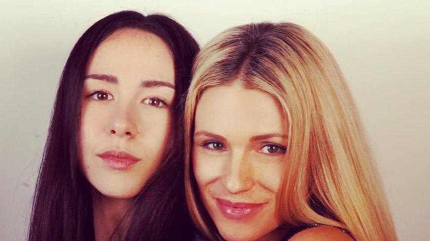Aurora und Michelle Hunziker