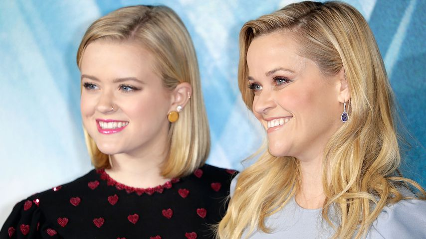 Ava Phillippe und Reese Witherspoon in London