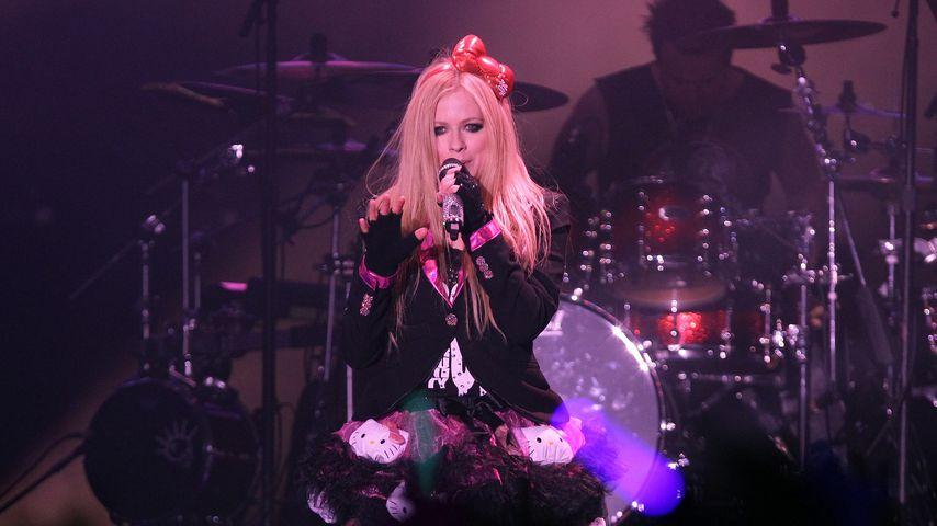 Avril Lavigne bei einem Konzert in Seoul, 2014
