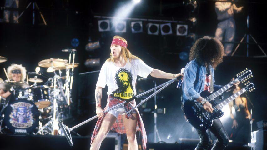 Guns N' Roses, Axl Rose und Slash