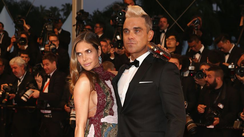Ayda Field und Robbie Williams im Mai 2015 in Cannes
