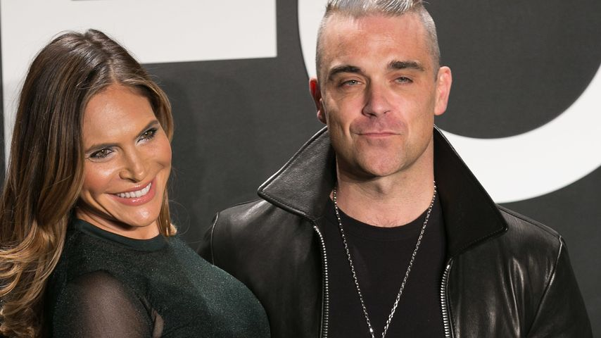 Ayda Field und Robbie Williams